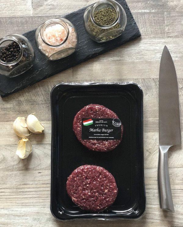 Marha Burger - friss hús - tálcás