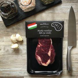Marha rostélyos - Ribeye steak - friss hús- tálcás